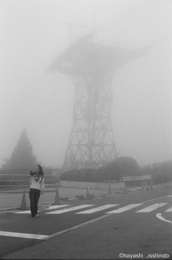 六甲山にて / LeicaMP / Elmar-M50mm/F28