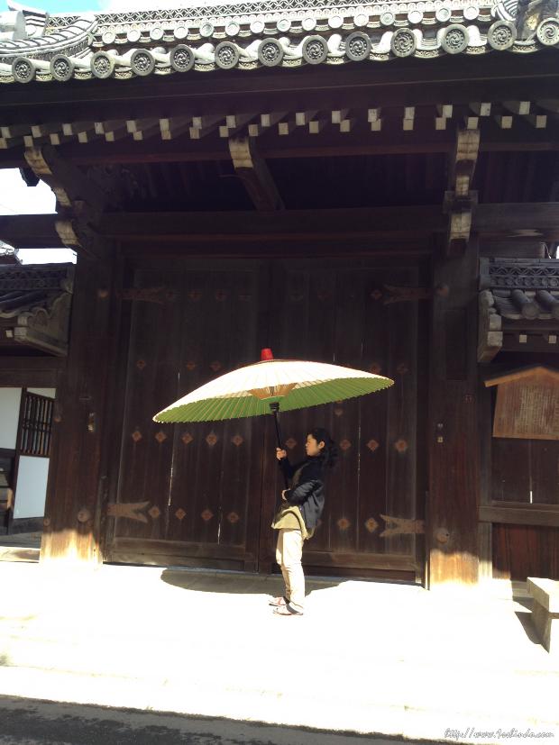和傘 / 京都 / iphoneで