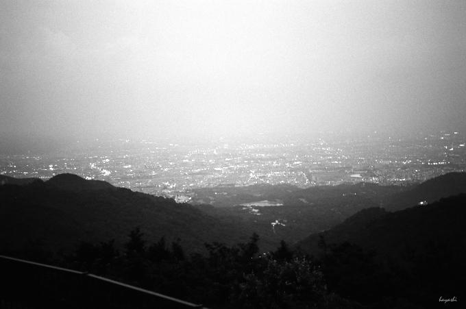 山より望す / Leica MP+elmar-M50mm2.8/TriX