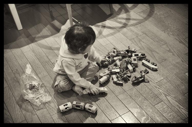電車小僧 / Leica M-Monochrome