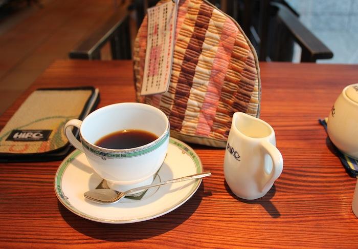 カフェにて(7月 梅田)
