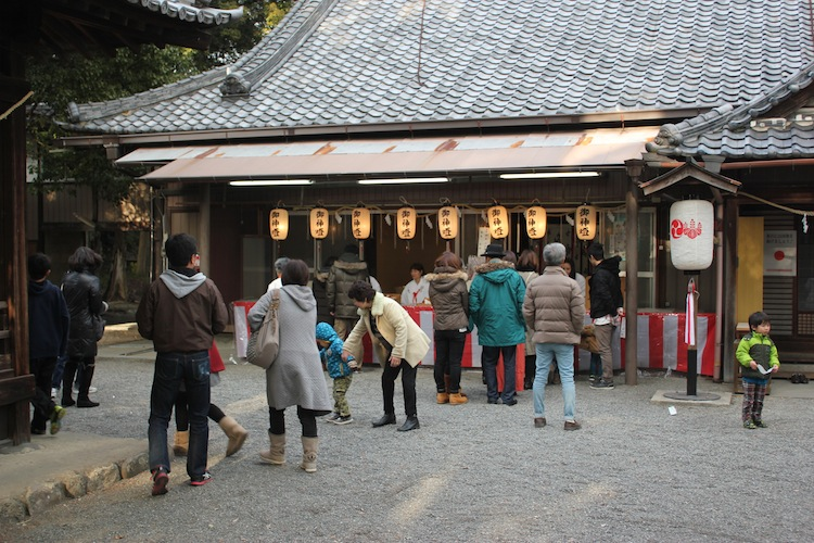 初詣(正月 大阪にて)