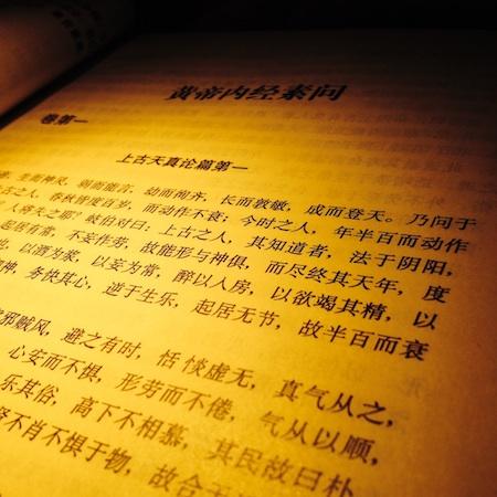 黄帝内経素問 (中医四部経典 中医古籍出版社より)