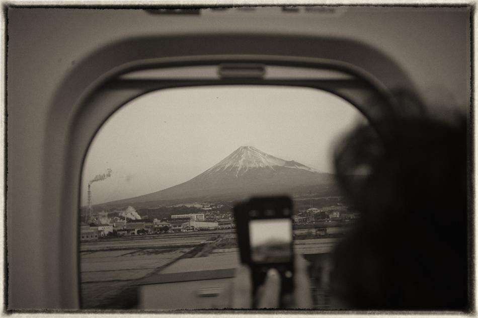 富士山 /スクリューマウントの old Elmarで撮影