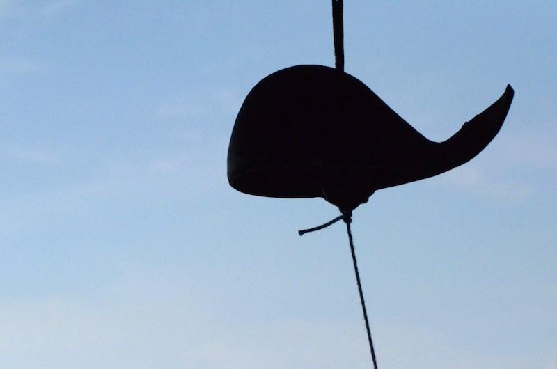 鯨型の風鈴