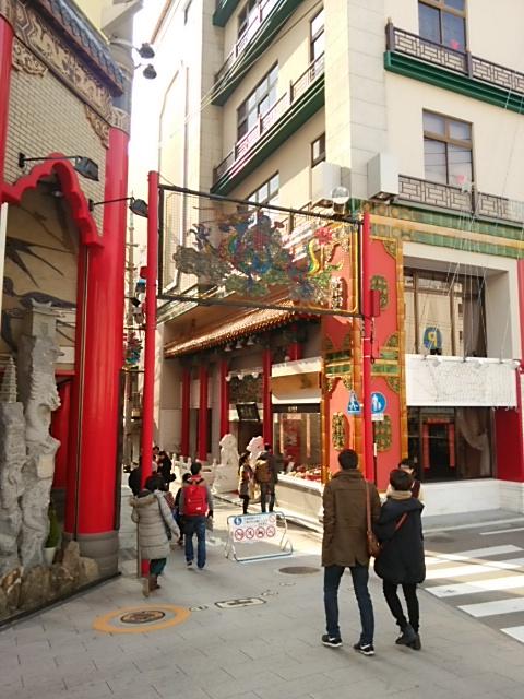 中華街へ行きました。