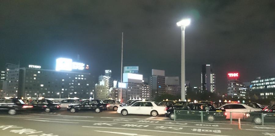 夜の新大阪