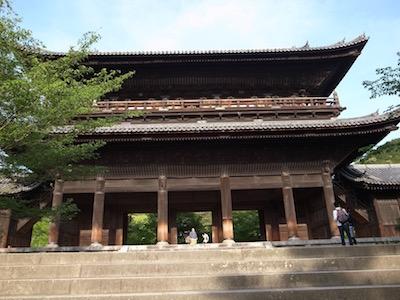 京都・南禅寺にて