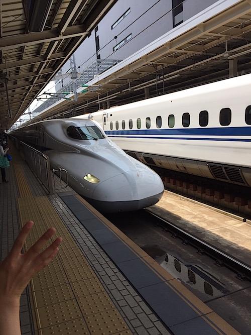 新幹線 2017/07/31 ②