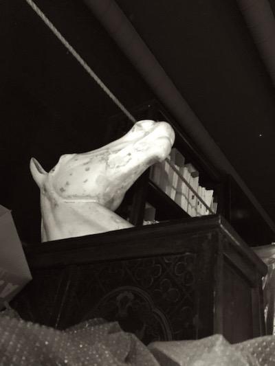 一鍼堂 置物シリーズ その4 馬?