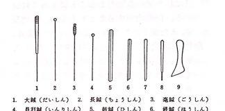 古代九鍼  鍼灸医学辞典より