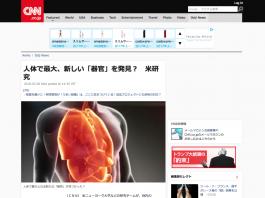 新しい器官と三焦の関係?