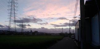 どんより重い雲