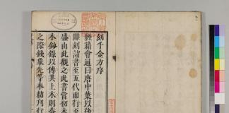 『(元板翻刻)千金方 30巻序目1巻』(京都大学附属図書館所蔵)