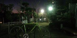 この日が最後の自転車出勤日
