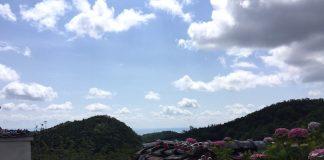 勝尾寺からの風景