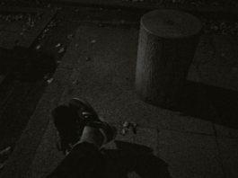 夜のベンチで考える