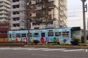天王寺から走る路面電車「阪堺電車」 絵になりますね。
