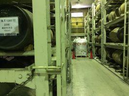 貯蔵室 樽と麦袋