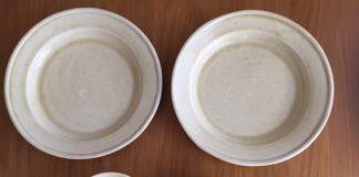 乳白色の食器