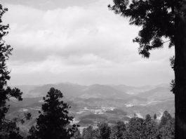 妙見山より