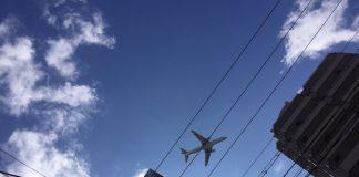 東三国上空