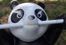 公園のパンダ