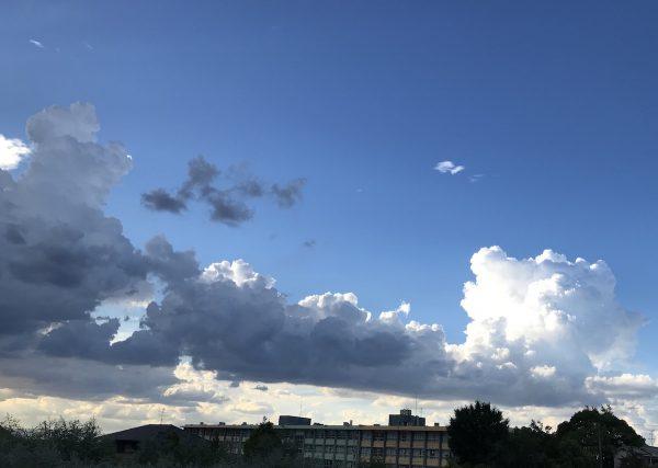 長い雲ですね