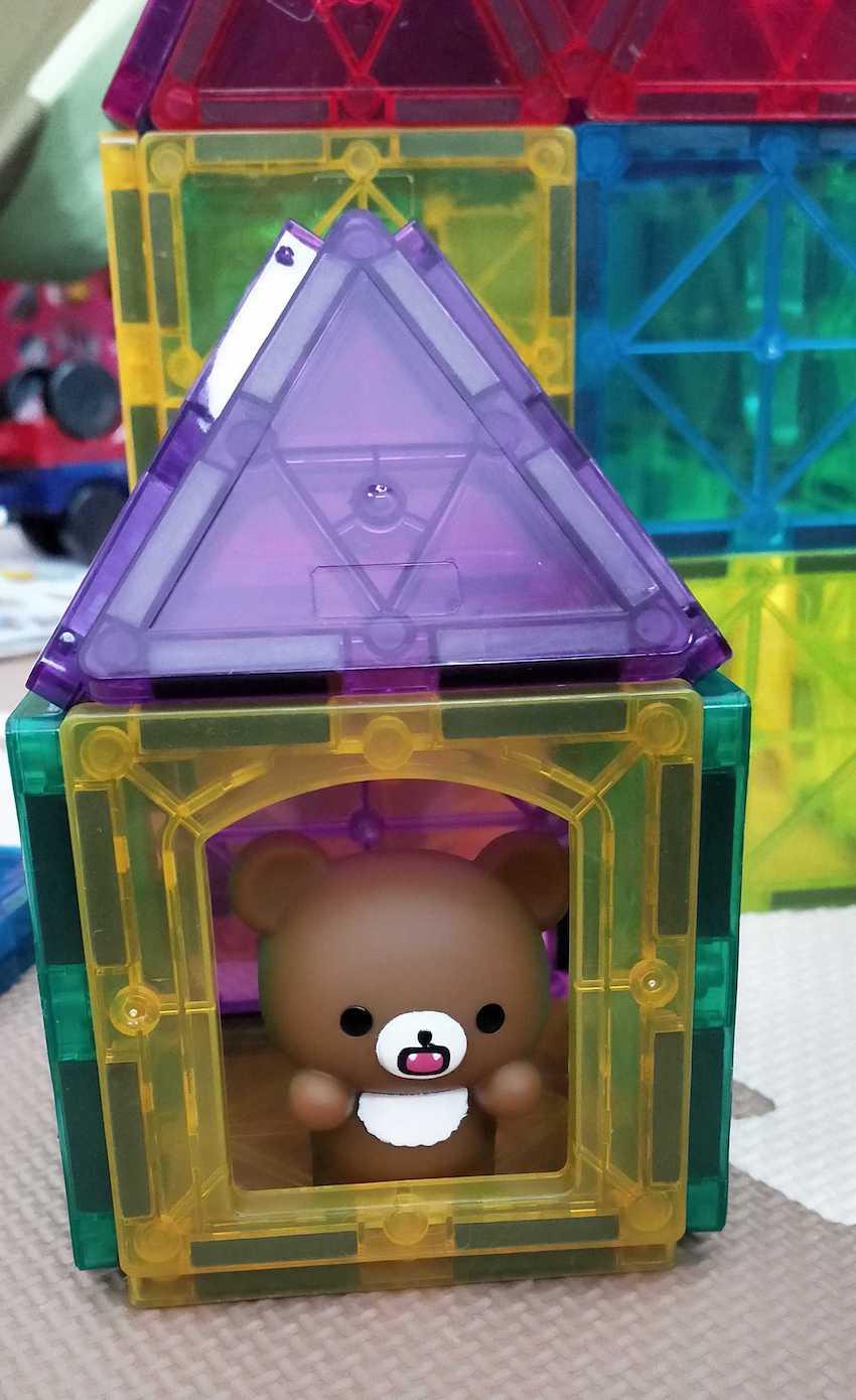 クマのお家。というか小屋