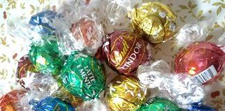 写真はリンツのチョコレートですが…。