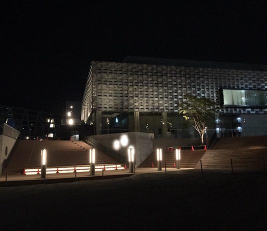 船場図書館が入る施設 外観