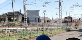阪急電車と小僧