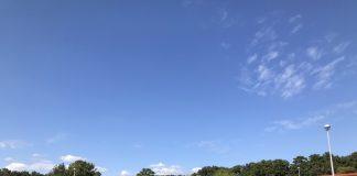 とてもいい天気でした