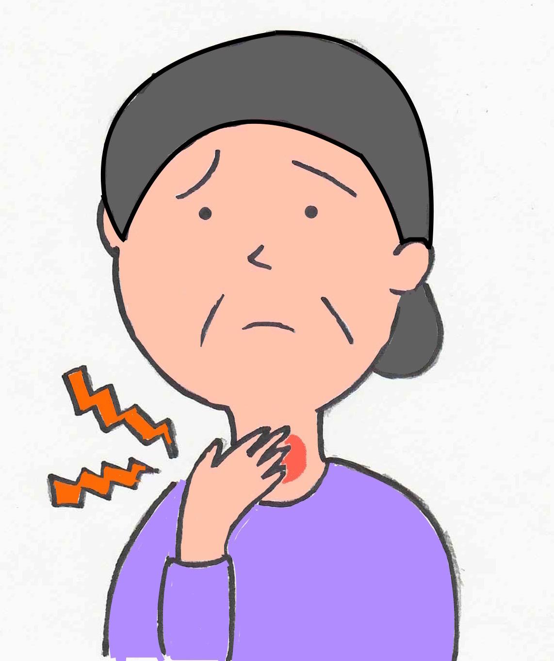 が する 喉 イガイガ